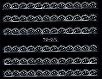 Nálepky čipky YQ-070