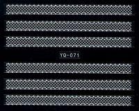 Nálepky čipky YQ-071