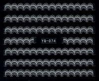 Nálepky čipky YQ-074