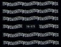 Nálepky čipky YQ-075