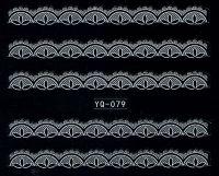 Nálepky čipky YQ-079