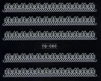 Nálepky čipky YQ-080