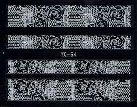 Nálepky čipky YQ-54
