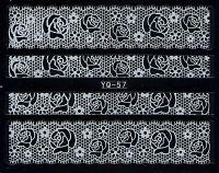 Nálepky čipky YQ-57