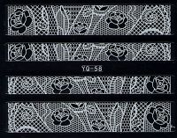 Nálepky čipky YQ-58
