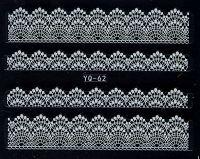 Nálepky čipky YQ-62