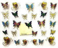 Nálepky motýle YGYY195