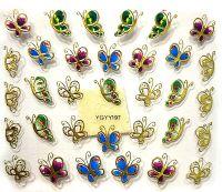 Nálepky motýle YGYY197