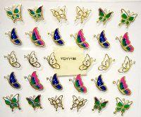 Nálepky motýle YGYY198