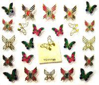 Nálepky motýle YGYY199