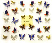 Nálepky motýle YGYY201