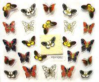 Nálepky motýle YGYY202