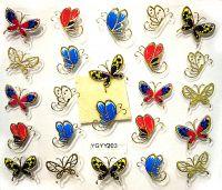 Nálepky motýle YGYY203
