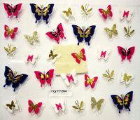 Nálepky motýle YGYY204
