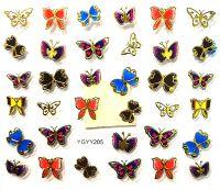 Nálepky motýle YGYY205