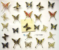 Nálepky motýle YGYY206