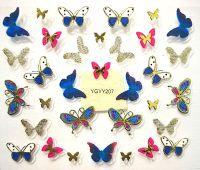 Nálepky motýle YGYY207