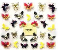 Nálepky motýle YGYY211