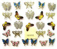 Nálepky motýle YGYY212