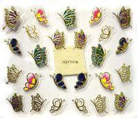 Nálepky motýle YGYY214