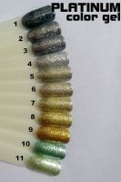 Platinum metalický gel na nechty 1