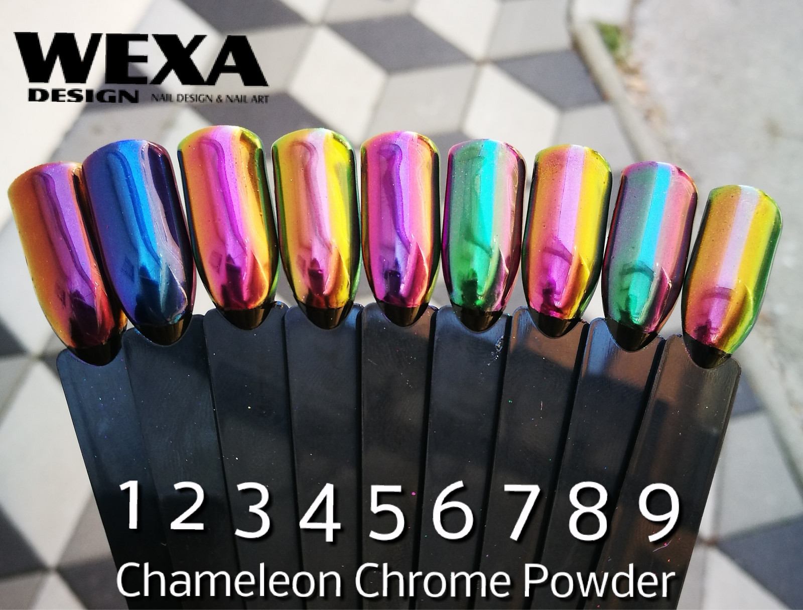 Chameleon Chrome Powder 1
