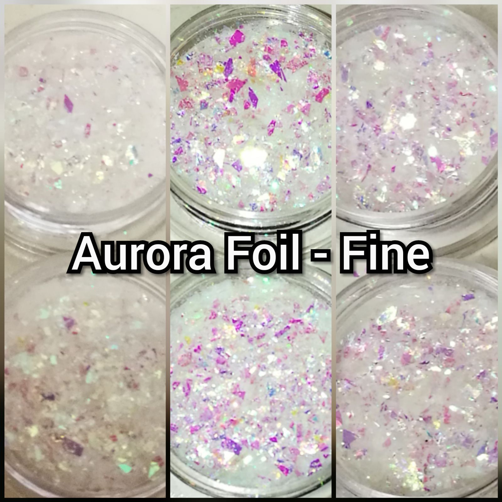 Drvení fólia na nechty Aurora Foil - Fine