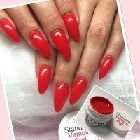 Farebný uv gél - Standard Vampire Red