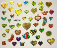 Foil Glass stickers - XF6234