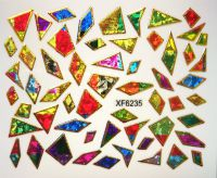Foil Glass stickers - XF6235