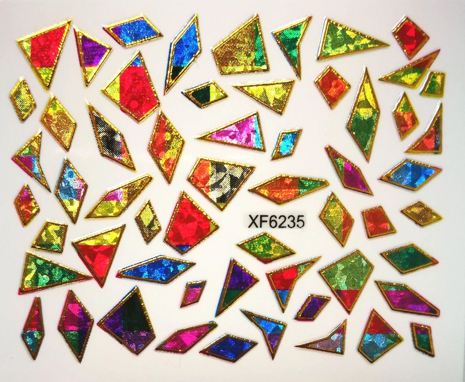 Foil Glass stickers - XF6235