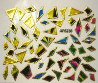 Foil Glass stickers - XF6236