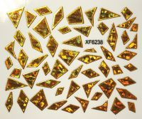 Foil Glass stickers - XF6238