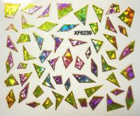 Foil Glass stickers - XF6239