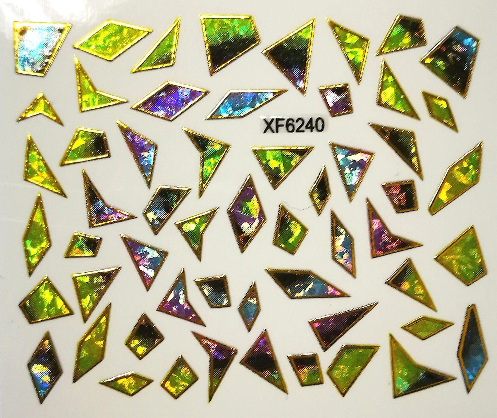 Foil Glass stickers - XF6240