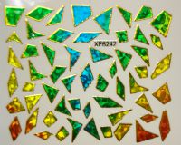 Foil Glass stickers - XF6242