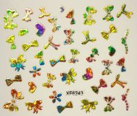 Foil Glass stickers - XF6243