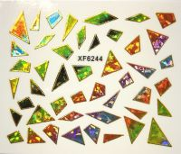 Foil Glass stickers - XF6244