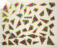 Foil Glass stickers - XF6245