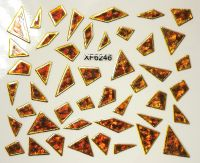 Foil Glass stickers - XF6246