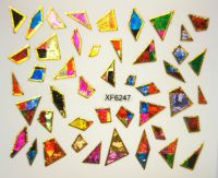 Foil Glass stickers - XF6249