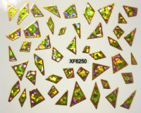 Foil Glass stickers - XF6250