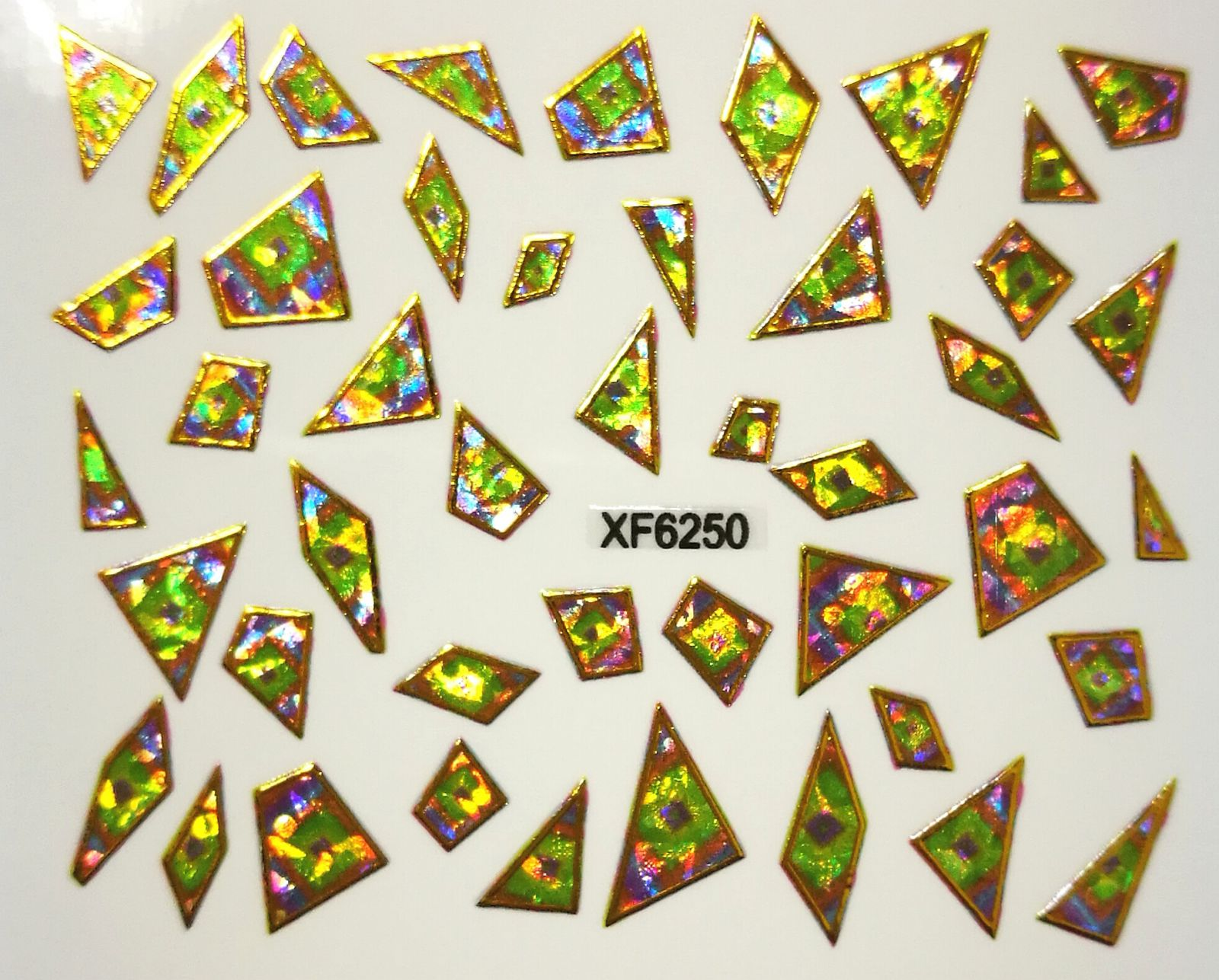 Foil Glass stickers - XF6250