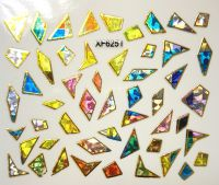 Foil Glass stickers - XF6251