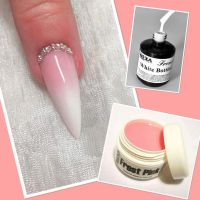 Frost Pink UV gél - 15ml - mliečne ružový