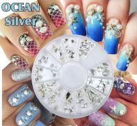 Kovové ozdoby OCEAN - Silver