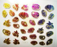 Morské nálepky YGA034