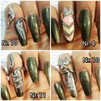 Nail Ring 12 - prsteň s nechtom