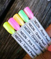 Neon Pearl color gél - Rosa