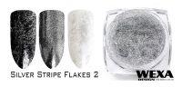 Silver Stripe Flakes 2